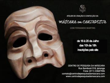 Atelier de Criação e Confecção da Máscara em Cartapesta