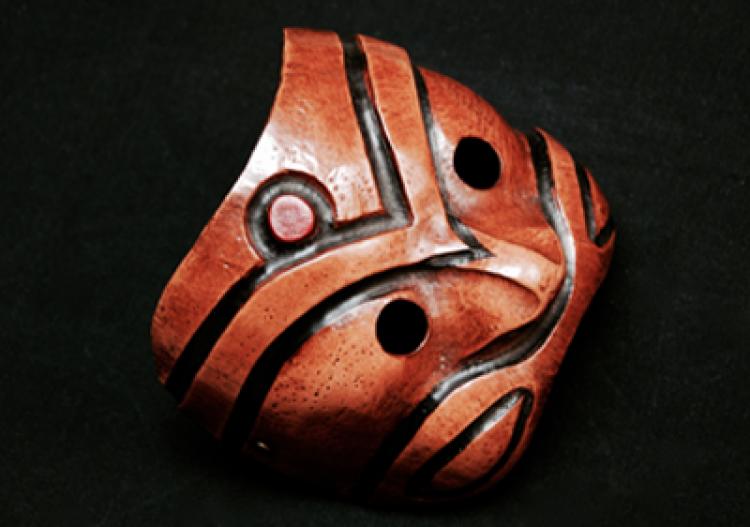 Máscara da Commedia Dell' arte