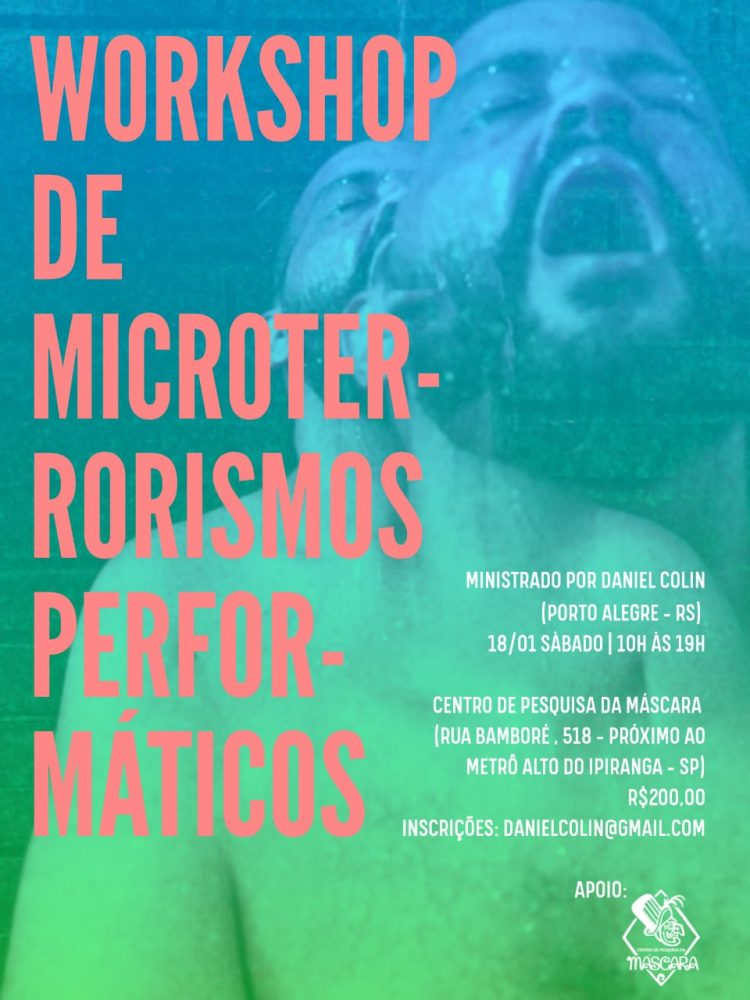 Workshop de Microterrorismos Performáticos