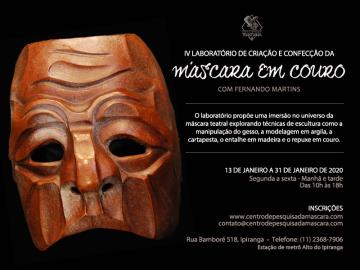 IV Laboratório de Criação e Confecção da Máscara em Couro