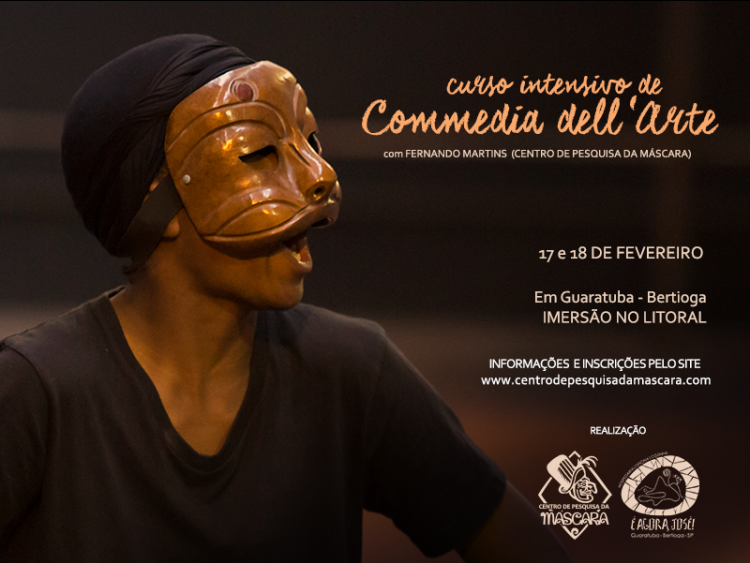 Curso Intensivo de Commedia dell´Arte em Bertioga