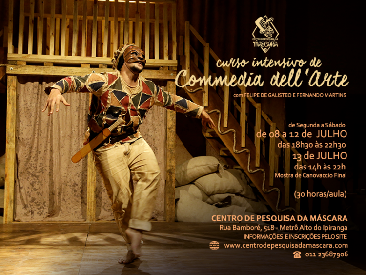 Curso Intensivo de Commedia dell'Arte