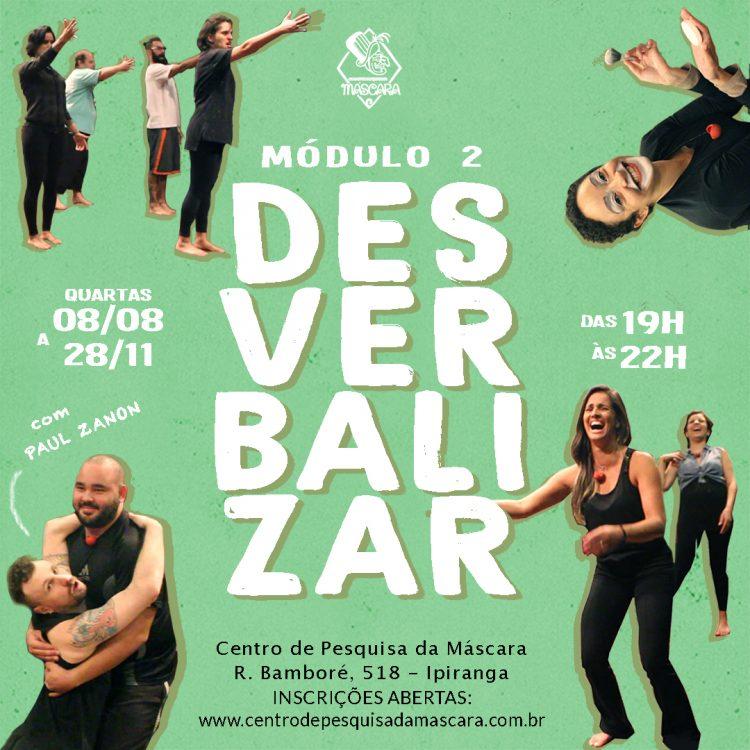 Desverbalizar – Módulo II (INSCRIÇÕES ENCERRADAS!)