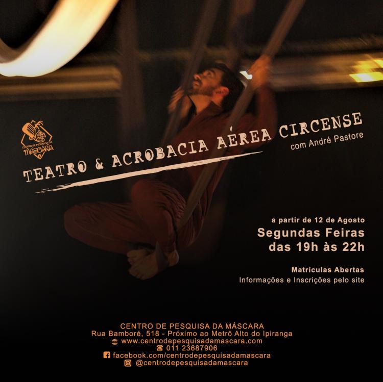 Teatro & Acrobacia Aérea Circense
