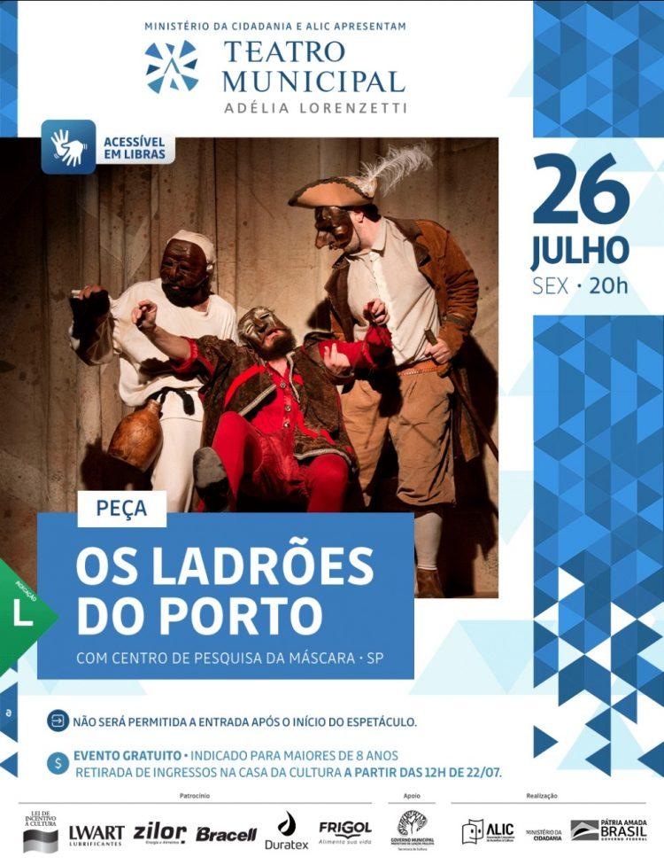Os Ladrões do Porto – com Centro de Pesquisa da Máscara