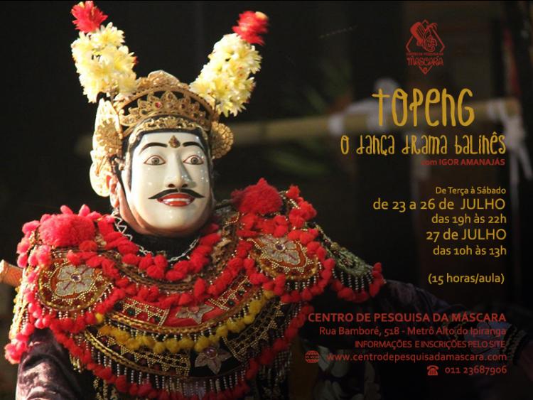 Topeng: O Dança-Drama Balinês