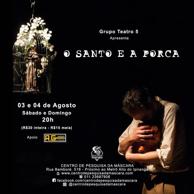O Santo e a Porca – com Grupo Teatro 5