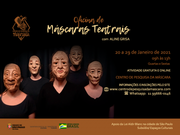 Oficina de Máscaras Teatrais